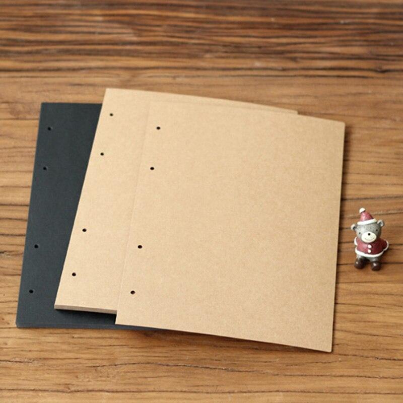 20 Hojas De Tarjeta A4 marrón para manualidadesTarjeta De Color Para Artesanías