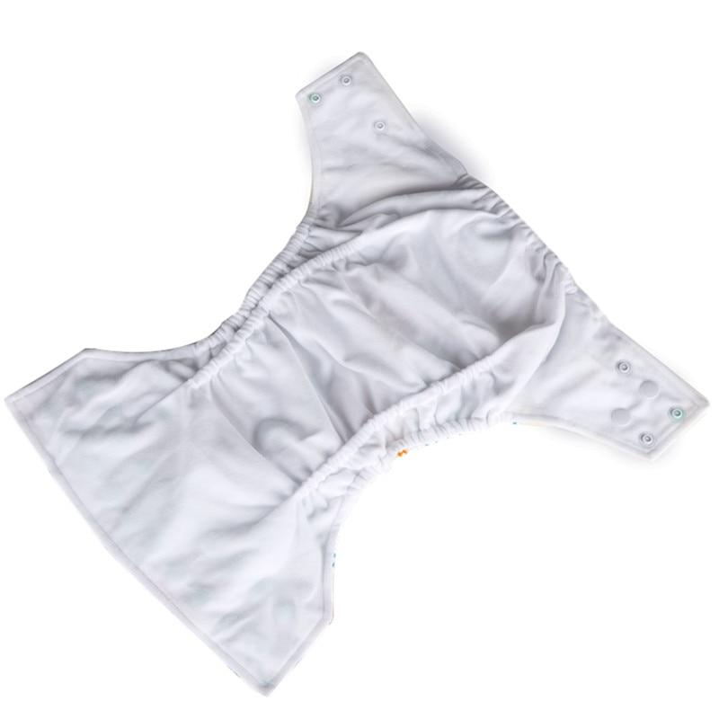 Simfamily 1pc Reusable Waterproof Baby Cloth Diaper Nappy Suede