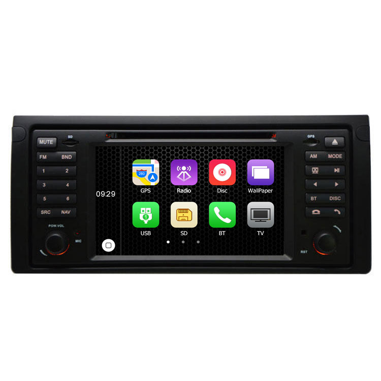 In-Car Multimedia System <font><b>For</b></font> <font><b>BMW</b></font> E39 E53 X5 M5 520i 528i <font><b>530</b></font> Old 5 Series With DVD Player <font><b>GPS</b></font> Navigation Stereo Headunit image