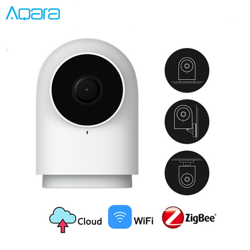 New Xiaomi Mijia Aqara 1080P Smart Camera G2 Hub Gateway Edition Zigbee 3 0 Smart Home