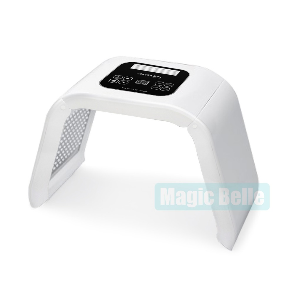 Smart system /Home Use LED Light Therapy Machine 4 Colors Omega LED ...