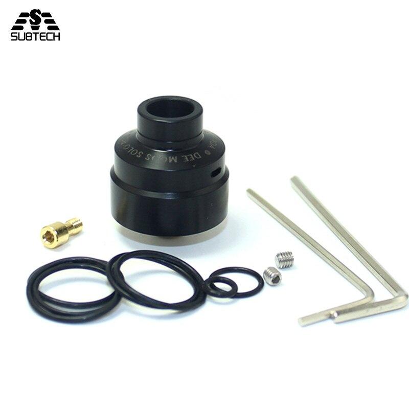 Sous deux SXK solo RDA 1:1 DEE MODS E-Cigarettes RDA rta reconstructible atomiseur Vaporisateur 22mm diamètre vaporisateur réservoir