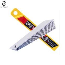 10 шт. офисные принадлежности универсальный нож сменные лезвия сплав сталь сменные лезвия резка лезвия для