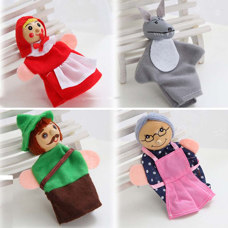 4Pcs-Kids-Little-Red-Riding-Hood-Finger-Puppets-Baby-Plush-Educational-Toy-Christmas-Gifts-fantoche-de-dedo-1