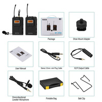Беспроводные ПЕТЛИЧНЫЕ микрофон микрофонный передатчик приемник для DSLR видеокамеры Аудио рекордер DJA99
