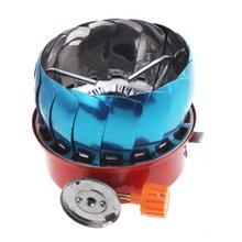 Super venta a prueba de viento estufa cocina de gas utensilios de cocina de camping picnic cookout bbq