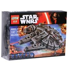 Halcón milenario 1 Unidades Bloques de Construcción Star Wars The Force Despierta Kits Modelo Rey BB-8 caja MiniFigures Compatible con 75105