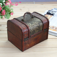 Archaize Three Piece Jewelry Box Noble Cosmetic Container Jewelry Box Creative Wedding Gift Wedding Gift Birthday