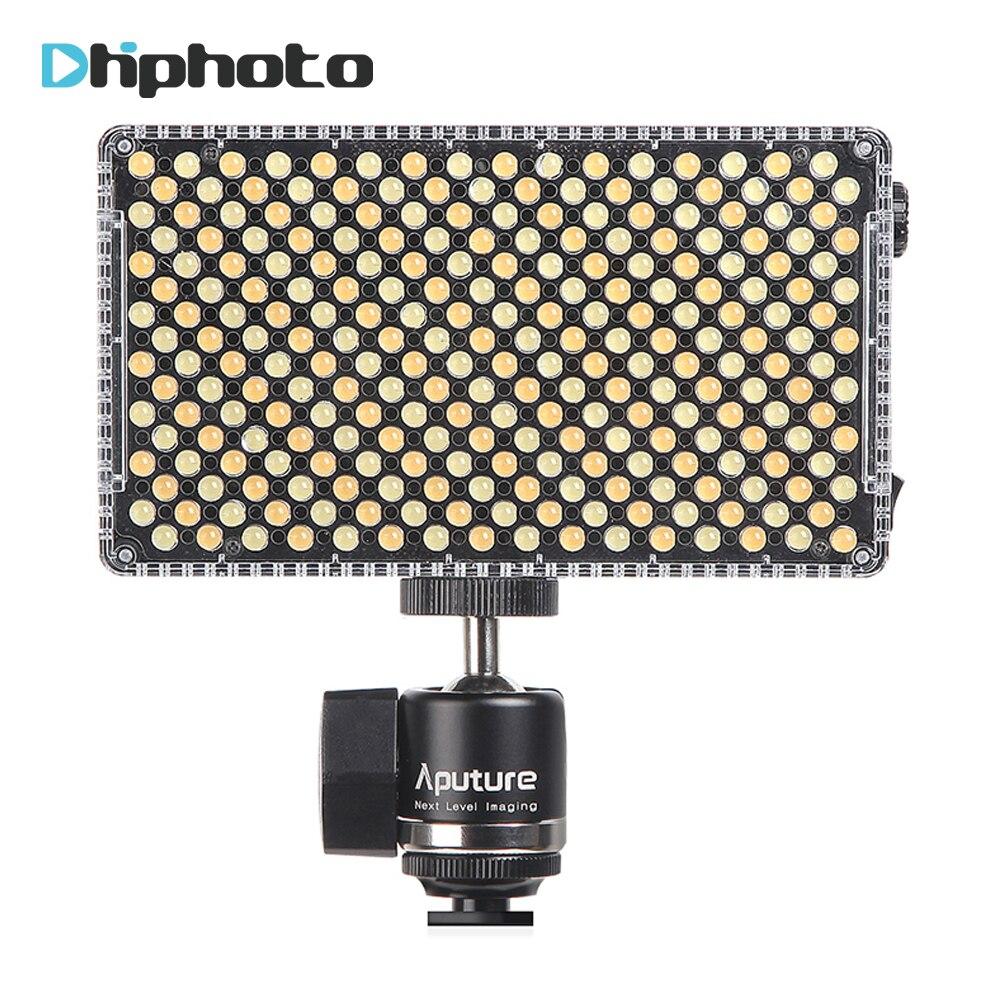 Aputure Amaran AL-F7 On-Camera LED Video light Color Temperature 3200-9500K CRI/TLCI 95+ Led Panel Most Versatile