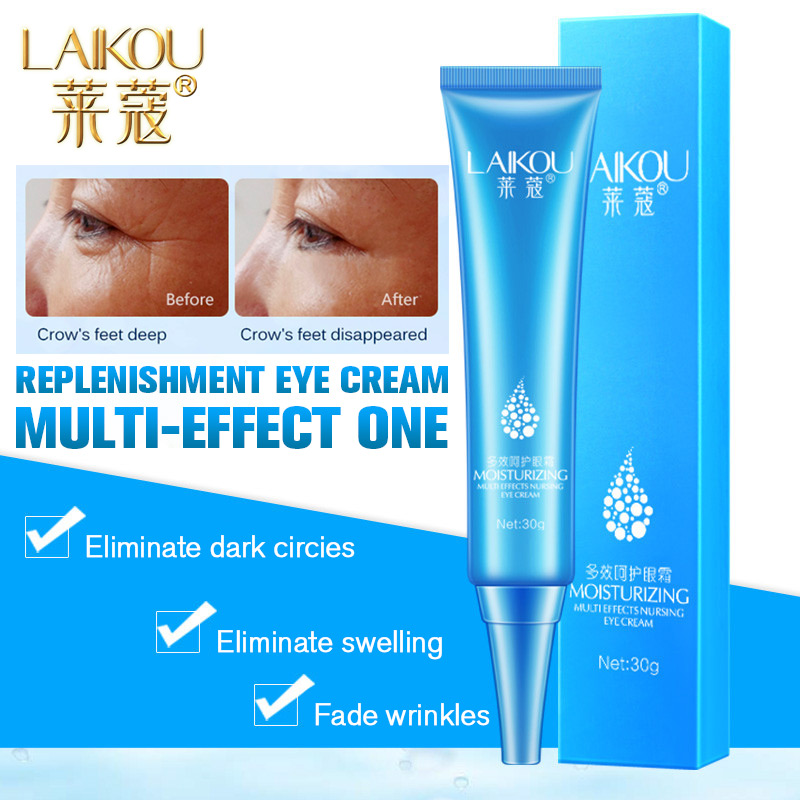 Hyaluronic Acid Moisturizer Eye Serum Dark Circles Puffiness Wrinkles and Bags Most Effective Anti Aging Eye