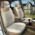 (Apenas 2 frente) Universal tampas de assento do carro Para Honda Civic Accord Fit Elemento Libertou As Raspas de Vida acessórios do carro estilo do carro