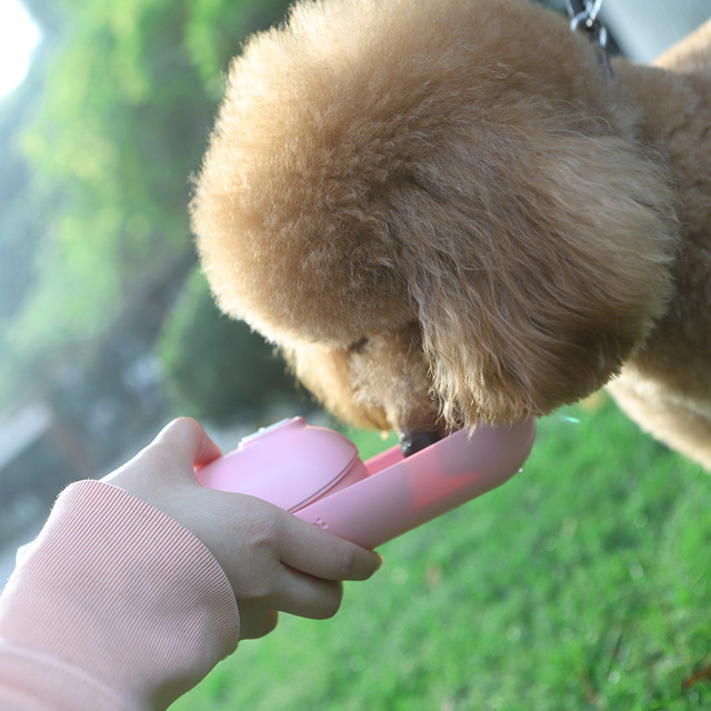 Mini Portable Water Bottle For Small Dogs  My Pet World Store
