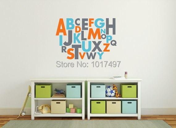Vinyl Wall Decals Alphabet Custom Vinyl Decals   Vinyl Wall Decals Alphabet