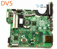 482325-001 Para HP Pavilion DV5 Laptop Motherboard + cpu Mainboard 100% totalmente testado trabalho