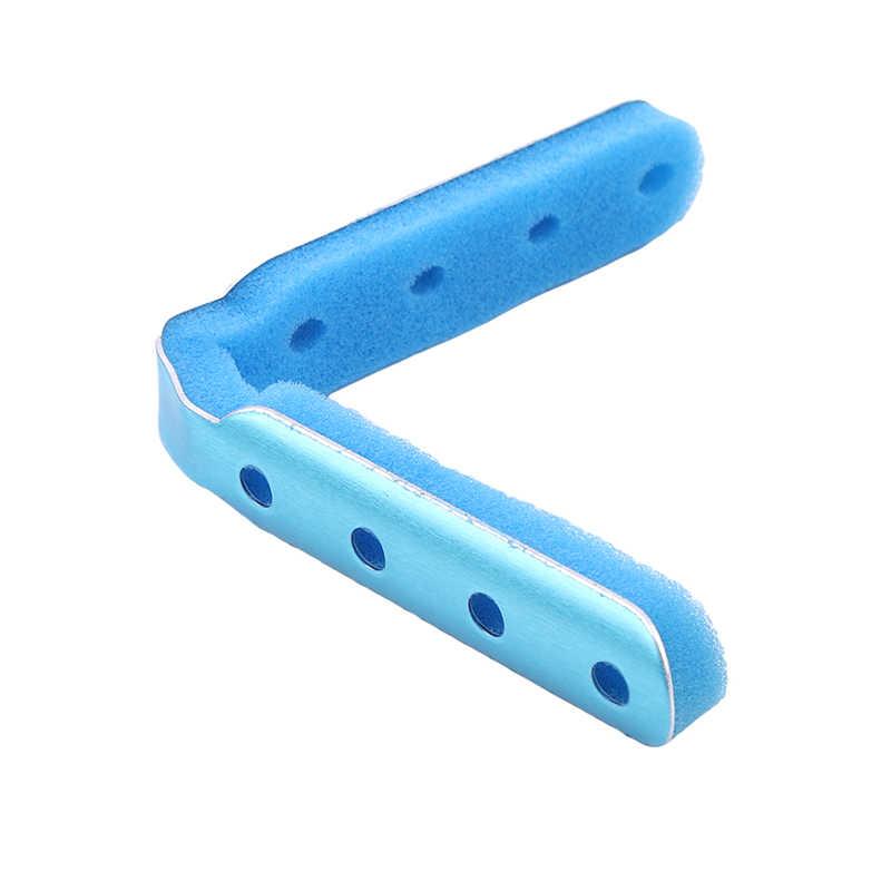 1 шт. длинные мягкие алюминиевый Мягкий пены спецодежда медицинская палец Шинная перелом боли защитный рука ортопедические