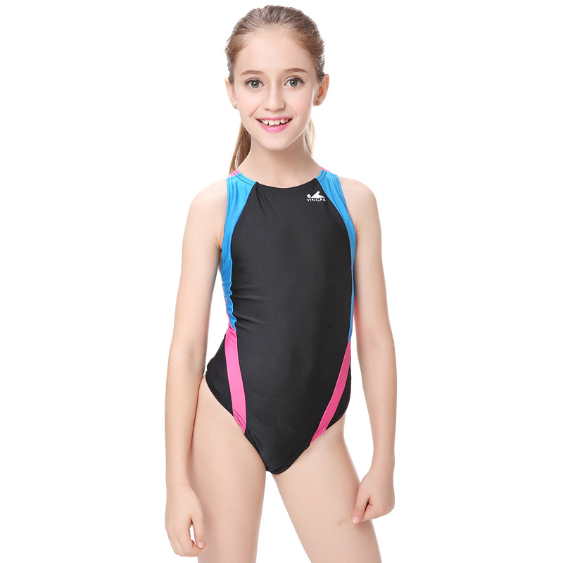 246b853342226 Professional Children Swimwear Racing Girls One Piece Swimsuits Tight Baby  Girl Bathing Suits Competition Bodybuilding Bathers-in Children's One-Piece  Suits ...