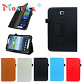 "Folio PU Leather Case Cover Stand For Samsung Galaxy Tab 3 7.0"" 7"" Tablet P3200 P3210 DEC 21"