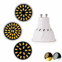 GU10 bombilla LED gu 10 AC 220V 110V SMD 5733 Bombillas 4W 6W 8W ampolla LED luces para iluminación del hogar
