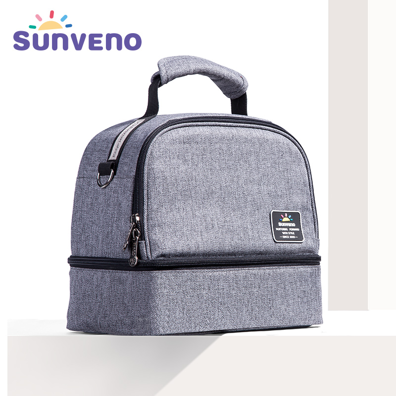 SUNVENO Nuova borsa termica per l'isolamento Biberon bibita Borse refrigeranti Lunch Box Baby Care Mother & Kids