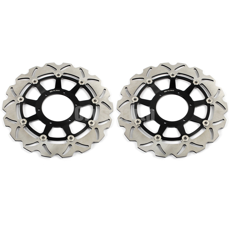Front Brake Discs Disk Rotors for Honda CBR 1000 RR CBR1000RR 06 07 VTR SP1 RC51 1000CC 00-01 VTR SP2 RC51 (SC45/e4/0061) 02-07 50mm billet split clip on ons handlebars for honda cbr 929 954 00 03 01 02 cbr 1000 rr cbr10000rr rvf 750 r 94 95 vtr 1000 00 06