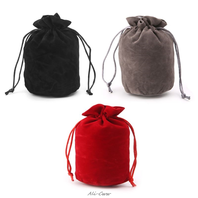 Dungeons And Dragons Velvet Dice Bag Jewelry Packing Drawstring Bag Board Game