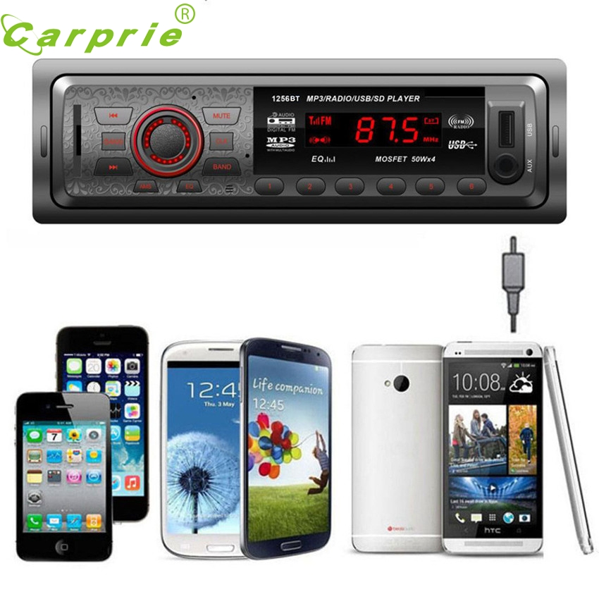 CARPRIE Super drop ship In Dash Car Audio Bluetooth Stereo Head Unit MP3/USB/SD/AUX/FM I ...