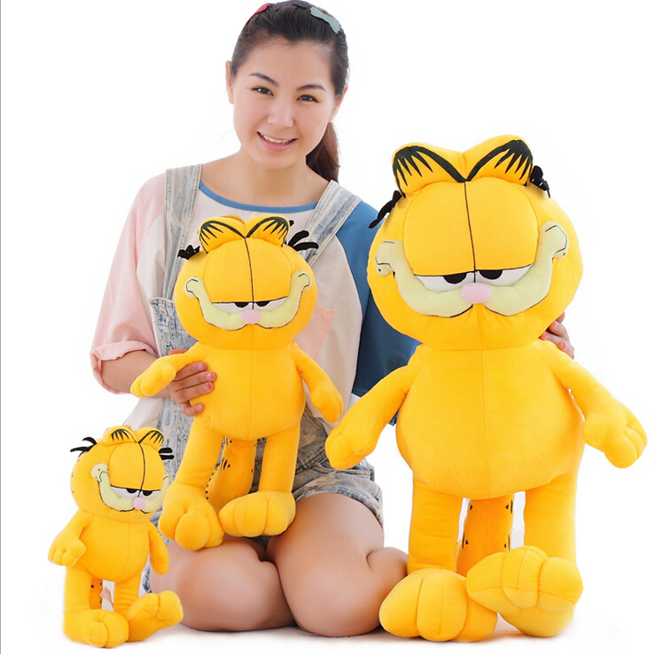 1pcs 8'' 20cm Plush Garfield Cat Plush Stuffed Toy Doll High Quality Soft Plush Figure gift for children Doll Free Shipping couple frog plush toy frog prince doll toy doll wedding gift ideas children stuffed toy