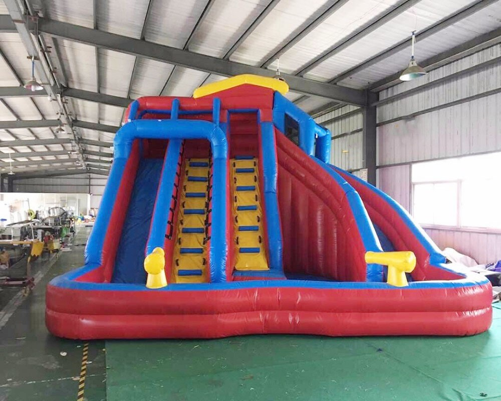 Customized PVC Inflatable Slide Inflatable Water Slide Inflatable Pool Slide For Sale