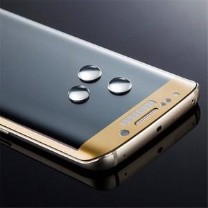 Image 2 - RONICAN S6 edge полное изогнутое 3D закаленное стекло Защита для экрана Защитная пленка Pelicula de vidro для Samsung Galaxy S6 Edge plus