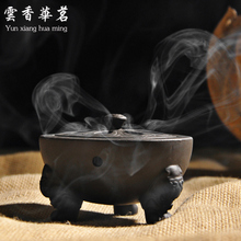 Violet arenaceous fine The tea ceremony censer Aromatherapy furnace incense coil tower of sandalwood cone heavy sweet sw