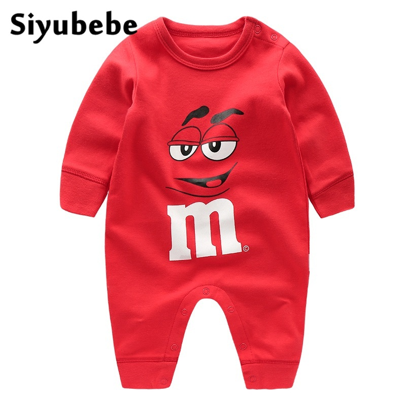 Newborn Baby Rompers Cotton Toddler Long Sleeve Ropa Bebe Clothing Infant Girl Jumpsuit New Born Baby Boy Romper Baby Costumes newborn baby rompers baby clothing set fashion cartoon infant jumpsuit long sleeve girl boys rompers costumes baby rompe fz044 2