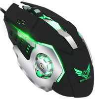 USB Wired Gaming Mouse Game Professional Mice Mechanical Mouse For Gamer Adjustable Silent Mouse 3200dpi led Optical 6d