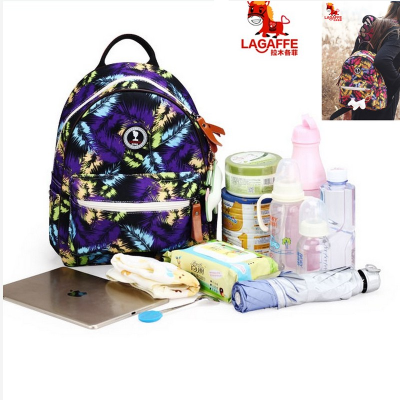 2017 New Fashional Diaper Bag Mummy Maternity Bag Baby Travel Backpack Diaper Organizer Nursing Bag Free shipping цена и фото