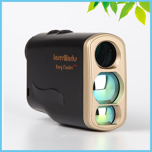 1000m Pinseeker Golf Range Finder Speed Hunting Laser Rangefinders 6X Angle Vertical Height Horizontal Distance Measuring