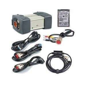 Image 1 - Iyi kalite MB yıldız C3 çoklayıcı tam kabloları otomobil ve kamyon teşhis arayüzü yazılım HDD