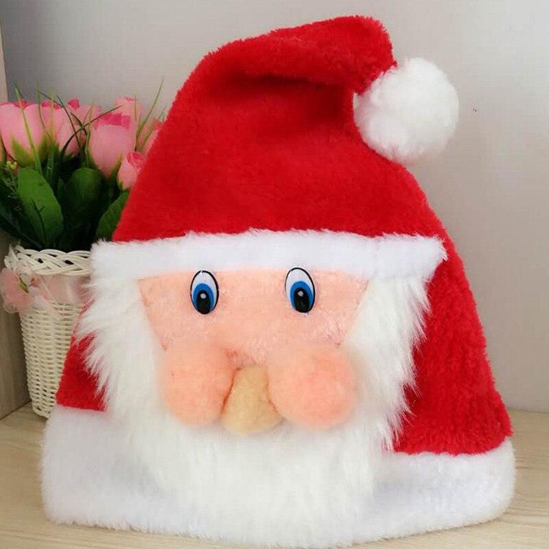 New Decorative Party Plush Elk Adult Children Hat Animal Christmas Party Hat Toys