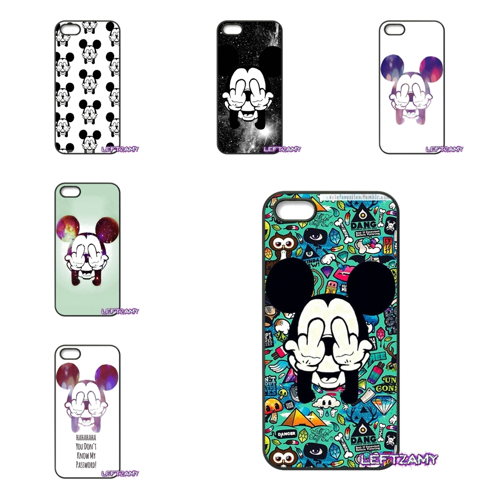 For Xiaomi Redmi Note 2 3 3S 4 Pro Mi3 Mi4i Mi4C Mi5S MAX bad mickey mouse Patte