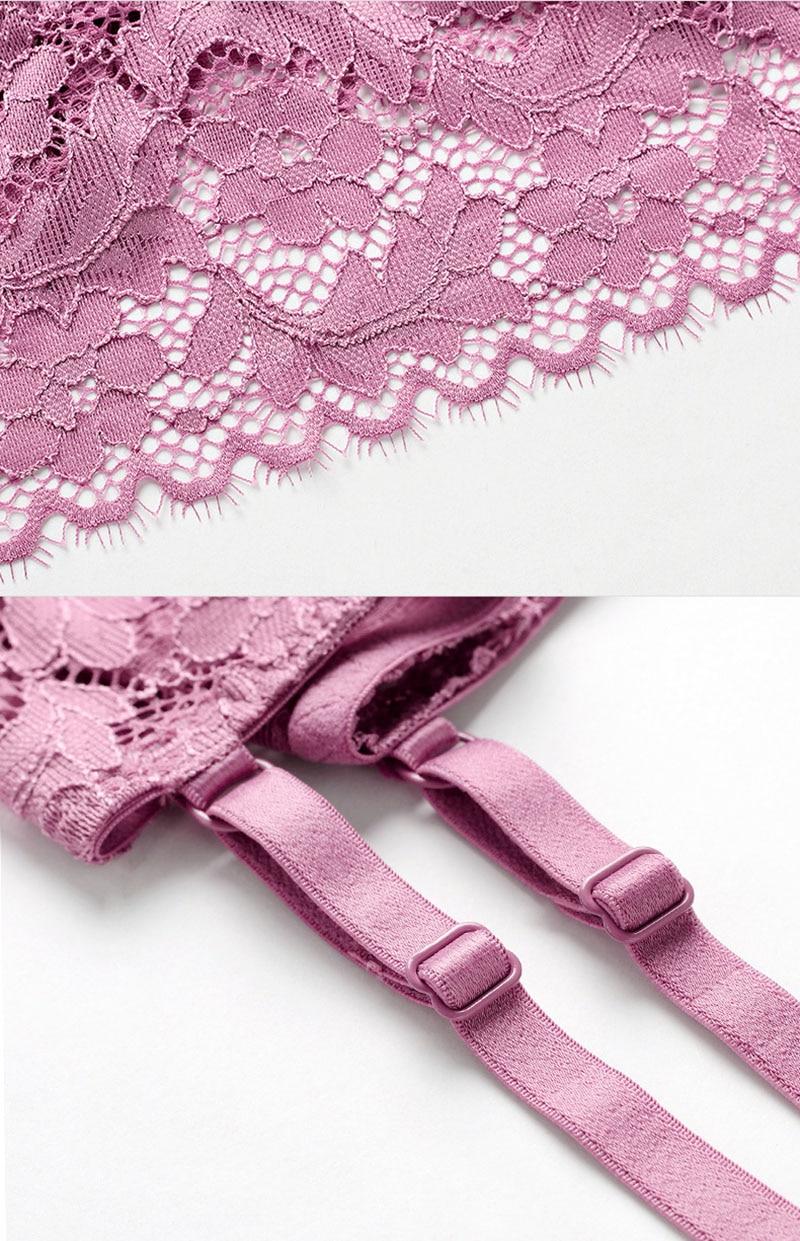 sexy bra set violet 10