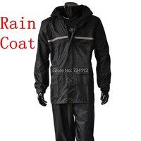 Raincoat Rain Pants Suit Motorcycles Electric Cars Fashion Korea Style Men And Women Fishing Split Double