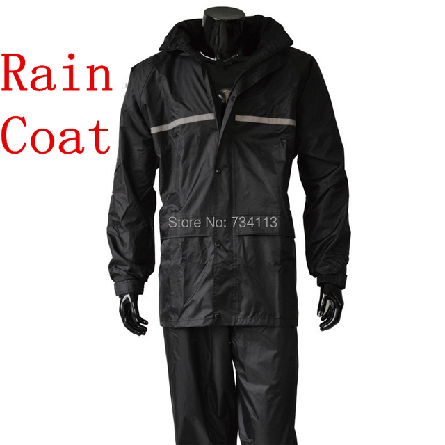Raincoat,rain pants Heavy rain wear Waterproof motorcycle bike rain jacket suit poncho big Size fishing Farm outdoor raincoat