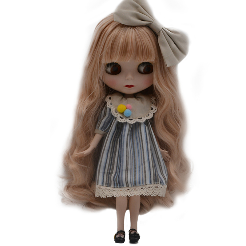 Blyth Doll BJD, Neo Blyth Doll Nude Customized Frosted Face Dolls Can Changed Makeup and Dress DIY, 1/6 Ball Jointed Dolls SO29 цены онлайн
