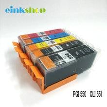 PGI-550 CLI-551 Ink cartridge for Canon MG5450 MG6350 mx725 MX925 IP7250 MG6450 MG5650 MG5550 IX6850  цена в Москве и Питере