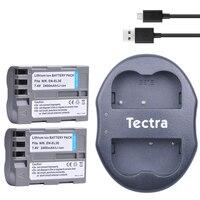 2Pcs EN EL3e ENEL3e Battery USB Dual Charger For Nikon D50 D70 D70s D80 D90 D100