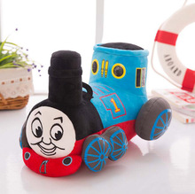 1Pcs/set 25cm Cute blue tank train Thomas & Friends Cute plush toy plush doll baby girl birthday boy gift