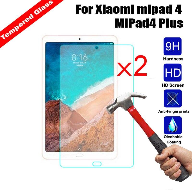 Защитная пленка закаленное Стекло Tablet Экран протектор глянцевая пленка Для Сяо mi Max2 6,44 mi Pad 4 8,0 mi Pad4 плюс защитная пленка