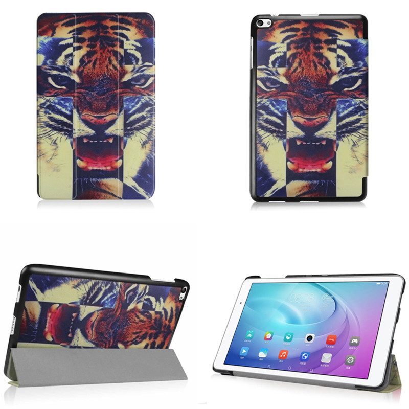 4W Cute Fashion Slim Magnetic Case for Huawei MediaPad  FDR-A01W / FDR-A03L Stand Case Cover Skin for Huawei T2 10.0 PRO new fashion pattern ultra slim lightweight luxury folio stand leather case cover for huawei mediapad t2 pro 10 0 fdr a01w a03l