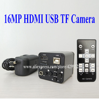 efix 16MP HDMI USB TF Card HD CMOS Digital Industry Video Microscope Video Camera Accessories Parts Soldering Tools Kits