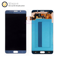 5pcs Free Shipping tested For Samsung Note 5 LCD N920F Display LCD Screen Touch Digitizer Assembly Note5 Replacement