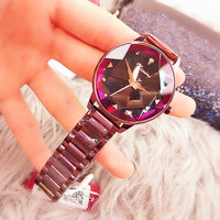popular 2019 Fahion Simple Star Sky Women Watches Waterproof Wristwatch