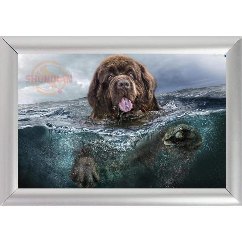 Fantastisch Hund Denkmal Bilderrahmen Ideen - Badspiegel Rahmen ...